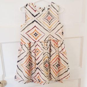 Old Navy sleeveless print dress, 4T
